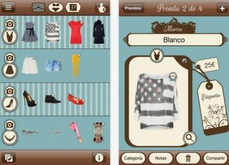 DressApp, lleva toda tu ropa almacenada en tu smartphone | VIM | Scoop.it