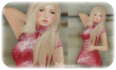 My Doll SL: Mandarin pink | Second LIfe Good Stuff | Scoop.it