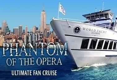 PHANTOM OF THE OPERA Brunch Cruise Announced | Broadway Musicals | Scoop.it