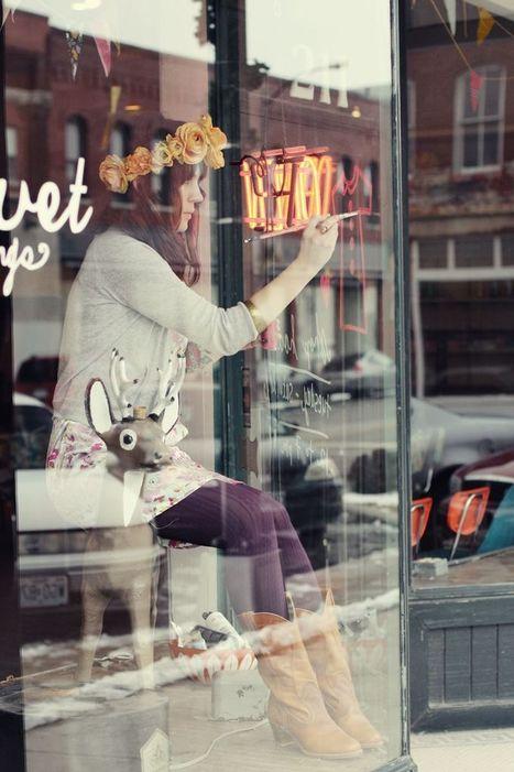 What's it like to own a vintage boutique?  - A Beautiful Mess   L'Atelier de la Culture   Scoop.it