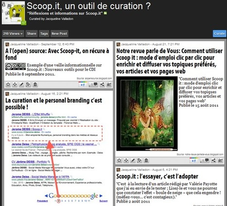 ".......................VEILLE  /  CURATION  ...........         Scoop.it, un outil de curation | ""CULTURE PERFORMANCE""  © 