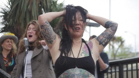 Margaret Cho Wraps Up Her Mini Busking Tour For The Homeless | STREET POP | Scoop.it