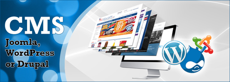 Joomla, WordPress or Drupal; your best CMS | Hi-Tech ITO(Offshore Software Development Company) | Scoop.it