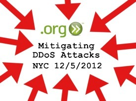 FREE EVENT: Mitigating DDoS Attacks: Best Practices for an Evolving Threat Landscape  – NYC 12/5 @PIR @NYTECH #DDoS   ISOC-NY Noticeboard   Scoop.it