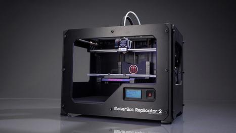 MakerBot Replicator 2 Desktop 3D Printer | Bradwell Institute Media | Scoop.it