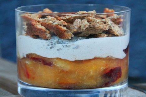 Plum Protein Parfait [Vegan]   My Vegan recipes   Scoop.it