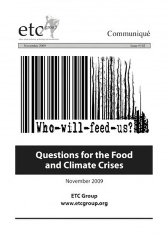 Who Will Feed Us? | ETC Group | real utopias | Scoop.it