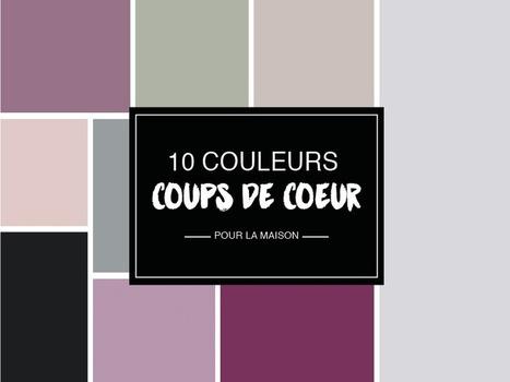 10 couleurs trendy pour réveiller son intérieur | décoration & déco | Scoop.it