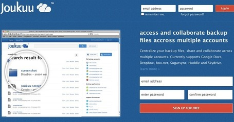 Joukuu.com | the simpelest way to manage your cloud based backup files across multiple accounts | Teaching in the XXI century | Scoop.it