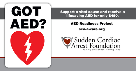National CPR-AED Awareness Week: 7 Things You Should Know About Sudden Cardiac Arrest   Sudden Cardiac Arrest Foundation   News & Stories   Scoop.it