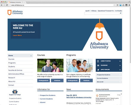 Athabasca University Launches New Brand Everywhere : ZGM Dialogue | Educational Technology in Higher Education | Scoop.it