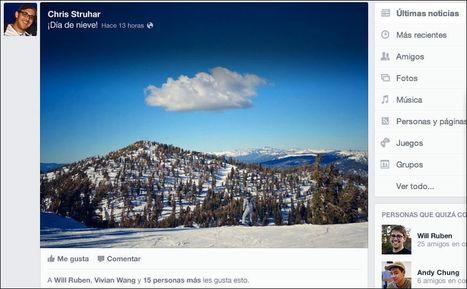 El nuevo diseño de Facebook.- | Seo y Marketing | Scoop.it