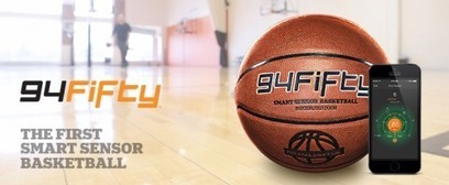 94Fifty Smart Sensor Basketball – a Coach in your Pocket! | 94Fifty Articles in the Press | Scoop.it