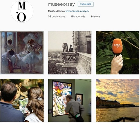 Top 40 musées et monuments français Facebook Twitter Instagram (1er mai 2016): l'Orangerie, Orsay et la Tour Eiffel en forte progression en avril 2016 | Clic France | Scoop.it
