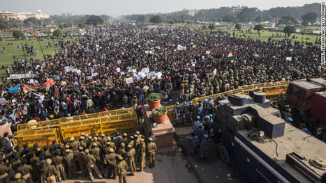 New Delhi police fire water cannon at India rape protest - CNN | Science, Technology & Invention News | Scoop.it