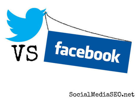 Twitter or Facebook: Where Should You Engage Your Fans? - Social Media SEO | Surviving Social Chaos | Scoop.it