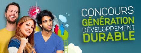 Etudiants, le concours génération développement durable, ça commence en janvier ! | RSE et développement durable | Scoop.it