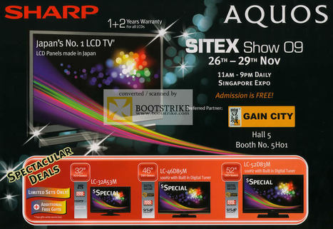 Sharp LCD TV Price List | Shopping | Scoop.it