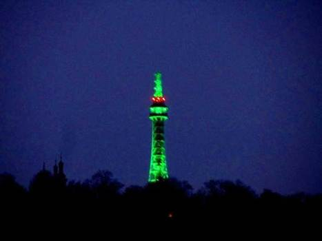 Petřín Tower participates in Greening for second year - Prague Post | Diverse Eireann- Sports culture and travel | Scoop.it