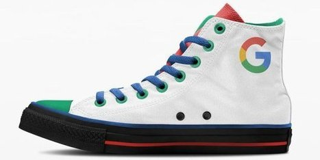 If Apple and Google made sneakers, they might look like this   I didn't know it was impossible.. and I did it :-) - No sabia que era imposible.. y lo hice :-)   Scoop.it