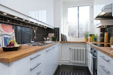 Sélection de plans de travail en bois pour aménager la cuisine | Le bricolage et les loisirs créatifs par Maison Blog | Scoop.it