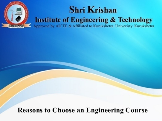 reasons for choosing a course