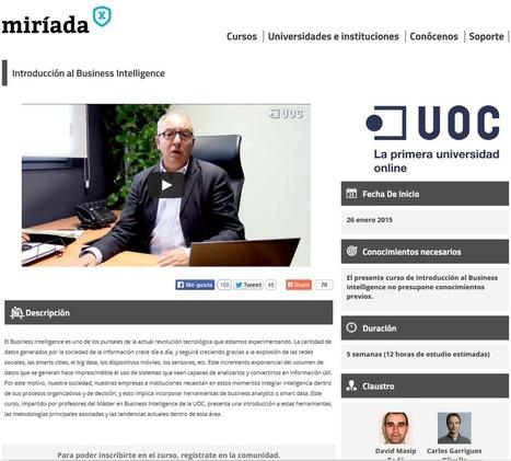 El MOOC de Inteligencia de Negocio de la UOC | iNFoRMáTiCa++ | Aprendiendo a Distancia | Scoop.it
