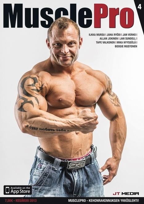 MusclePro - Kehonrakennuksen ykköslehti! | Liikunta | Scoop.it