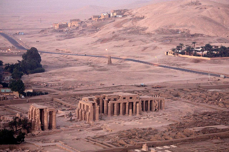 Ancient Thebes Necropolis - Qurna, Egypt | historian: science and earth | Scoop.it