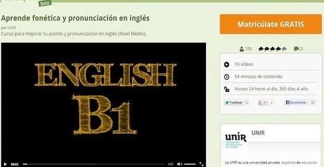 Un curso gratuito para que mejores tu acento y pronunciación en inglés | Magazín interactivo digital | Scoop.it
