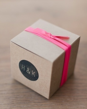 Our Kraft Favor Boxes are on Martha Stewart! | Party Invitations | Scoop.it