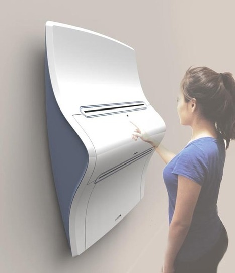 Clothing Printer Concept for 2050 Allows You to Produce Your Own Clothes from Home | Tuvie | design & interface | Scoop.it