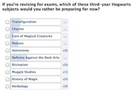 Pottermore Insider: Poll Answers: Which of these third-year Hogwarts subjects would you rather be preparing for now? | Pottermore | Scoop.it