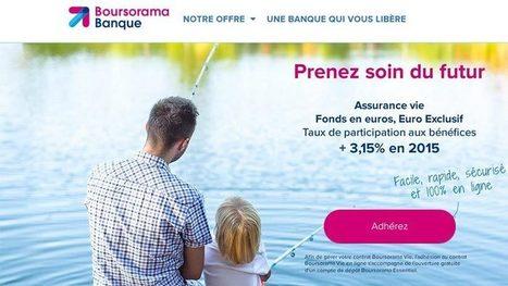 Assurance vie : l'ouverture aux enfants mineurs chez Boursorama | BTS Banque | Scoop.it