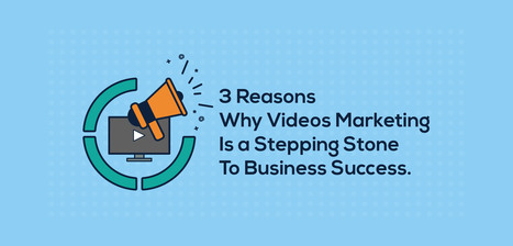 3 Reasons why videos marketing is a stepping stone to business success | Presentation Design Services and Character Animation Video | Scoop.it