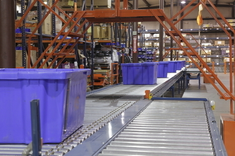 Our all new automated conveyor system for our Parts Department! | Bad Boy Mowers | Conveyor Belt | Scoop.it