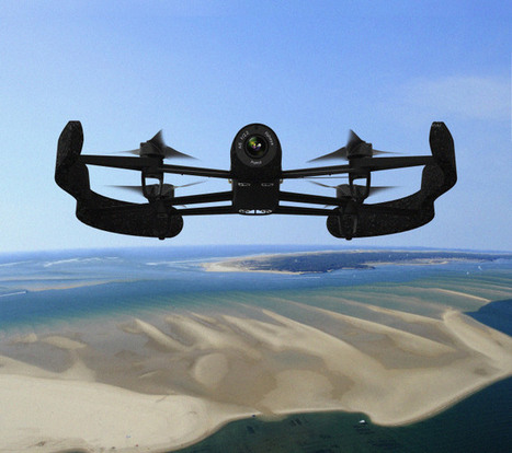 Parrot's Newest Drone Packs A Serious Camera, Extreme Range | TechCrunch | Drone | Scoop.it
