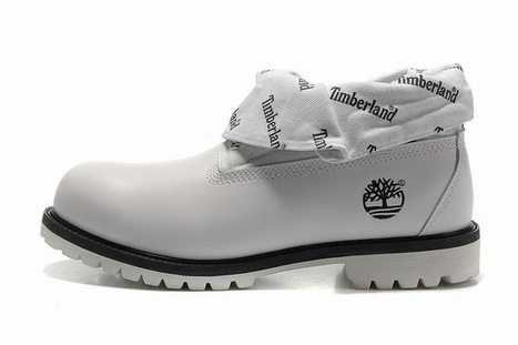 Timberland Roll Top Boots With The New White Fanmao Letters Mens | popular list | Scoop.it