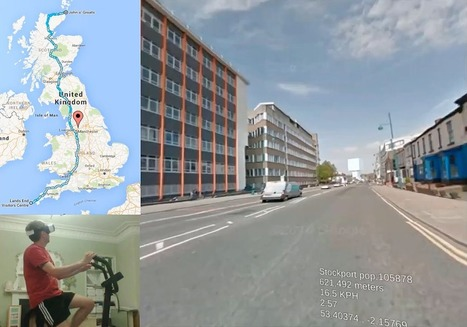 This Guy is Cycling the Length of Britain in VR - VRScout | Mediaproduction-Light and Lean | Scoop.it