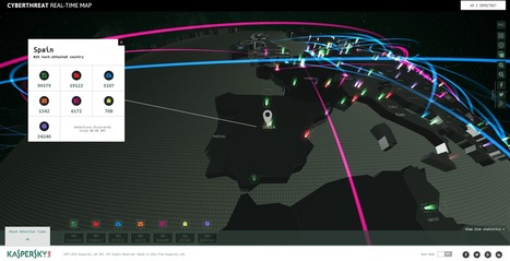 Estas son las ciberamenazas en tiempo real: ¿quién y cómo está afectado? | Ciberseguridad + Inteligencia | Scoop.it
