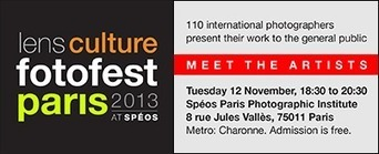 Lens Culture FotoFest Paris 2013: 4th Annual International Photography Portfolio Reviews | Photography in the Age of Social Media | Scoop.it