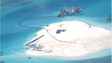 China building 'great wall of sand' in South China Sea | Geography Education | Scoop.it