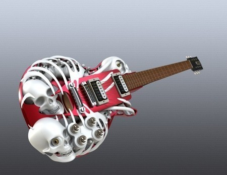 Customuse - SLS polyamide AM customisable electric guitars   Additive Manufacturing News   Scoop.it