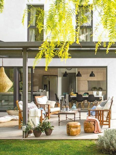 Une maison espagnole ouverte sur son jardin | PLANETE DECO a homes world | décoration interieure | Scoop.it