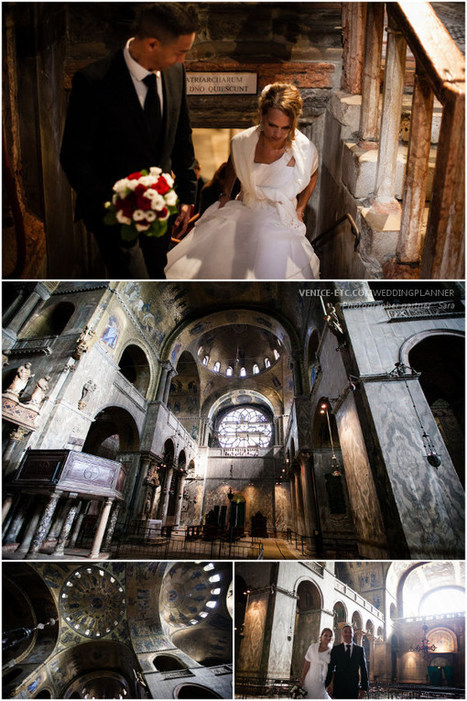 Romantic wedding in Basilica San Marco, Venice | Sanya Wedding Event | Scoop.it