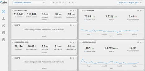 Monitoring Your SEO Clients with Cyfe | puzzledhalf | Scoop.it