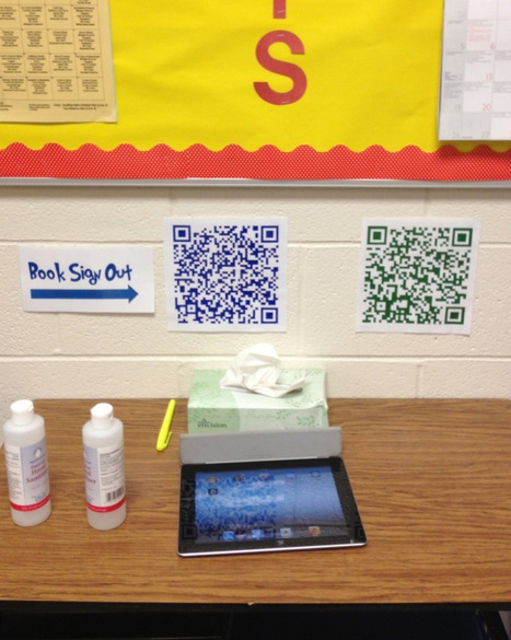 Classroom Routines Made Simpler with QR Codes | Emerging Learning Technologies | Scoop.it