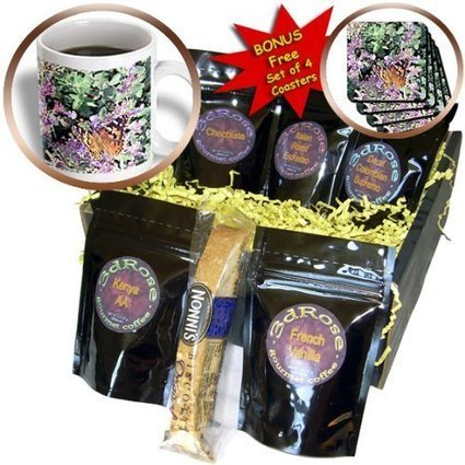 Reviews - cgb_11393_1 Cassie Peters Photography - Butterfly and Purple Flowers by Angelandspot - Coffee Gift Baskets - Coffee Gift Basket | animals,flowers,barns, | Scoop.it