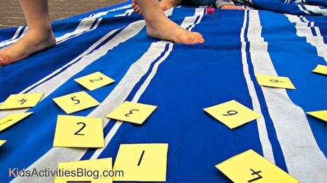 Math Game for Learning Numbers | Learn through Play - pre-K | Scoop.it