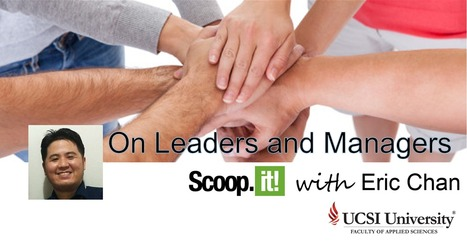 A Message From The Curator | On Leaders and Managers | Scoop.it
